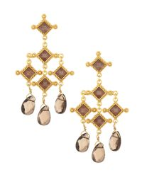 Stephanie Kantis | Metallic Venetian Chandelier Earrings | Lyst