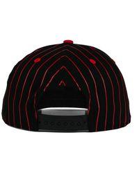 KTZ - Black Washington Bullets Vintage Pinstripe 9fifty Snapback Cap for Men - Lyst