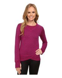 Brooks | Purple Fly-by Sweatshirt | Lyst