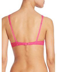 Simone Perele - Pink Celeste Triangle Bra - Lyst