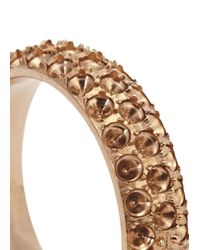 Vitaly | Metallic Anti-stone Rose Gold-plated Ring | Lyst