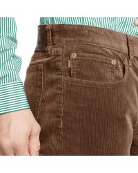 Polo Ralph Lauren | Brown Sullivan Slim-fit Corduroy for Men | Lyst