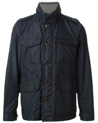 Moncler | Blue 'Triomphe' Jacket for Men | Lyst