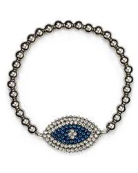 Roni Blanshay - Blue Evil Eye Bracelet - Lyst