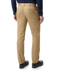 Lacoste - Natural Slim Fit Trousers for Men - Lyst
