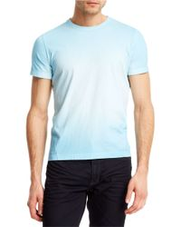 Kenneth Cole | Blue Marble Wash T-Shirt for Men | Lyst