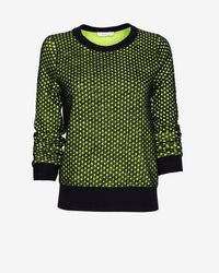 A.L.C. | Green Deidre Wool Sweater | Lyst