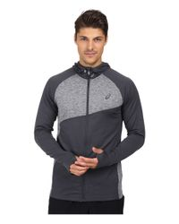 hot-selling official the sale of shoes on feet at Lyst - Asics Thermopolis® Hoodie in Gray for Men