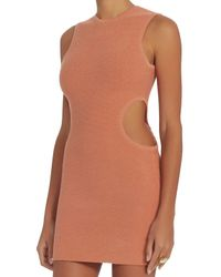 Ronny Kobo - Pink Nava Circle Cut Out Dress - Lyst