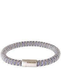 Carolina Bucci | Gray Grey And Silver Twister Bracelet | Lyst
