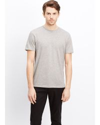 Vince | Gray Favorite Jersey Crew Neck Tee for Men | Lyst