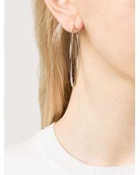 Michael Kors | Metallic Hoop Earrings | Lyst