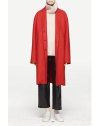 Rag & Bone - Red Blankett Coat - Lyst