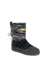 TOMS - Black 'nepal' Boot - Lyst