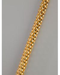 Lara Bohinc - Metallic Rosetta Necklace - Lyst