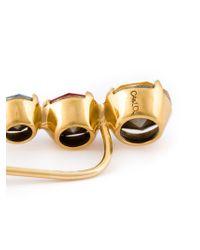 Ca&Lou | Metallic Set Crystal Earrings | Lyst