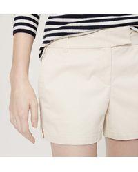 "LOFT - Multicolor Riviera Shorts With 4"" Inseam - Lyst"