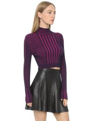 Ohne Titel | Multicolor Plaited Rib Turtleneck | Lyst