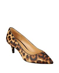 Nine West | Multicolor Xeena Calf Hair Point Toe Pumps | Lyst
