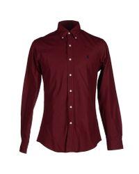 Ralph Lauren - Purple Shirt for Men - Lyst
