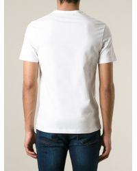 Acne Studios - White 'eddy' Graffiti Spray Face Print T-shirt for Men - Lyst
