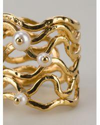 Aurelie Bidermann - Metallic Cheyne Walk Ring - Lyst