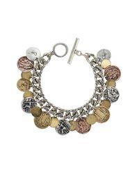 Jenny Bird | Metallic Thea Coin Bracelet | Lyst