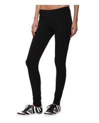 Y-3 - Black Reversible Leggings - Lyst