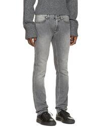 Acne Studios - Gray Grey Max Shot Jeans for Men - Lyst