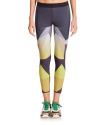 Ultracor - Yellow Sprinter Printed Leggings - Lyst