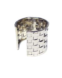 Anndra Neen | Metallic Thatched Cuff | Lyst