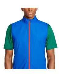 Pink Pony - Blue Water-resistant Packable Vest for Men - Lyst