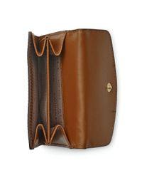 Ralph Lauren - Brown Croc-embossed Leather Wallet - Lyst