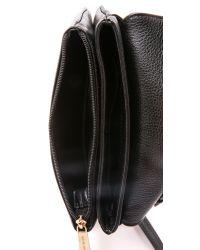 MICHAEL Michael Kors | Black Bedford Cross Body Bag - Luggage | Lyst