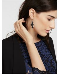 BaubleBar | Metallic Black Diamond Drops | Lyst