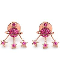 Vivienne Westwood - Pink Pia Earrings - Lyst