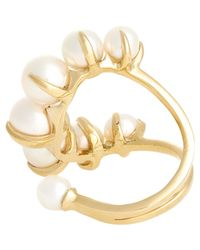 Ana Khouri | Metallic Women's Time Ring | Lyst