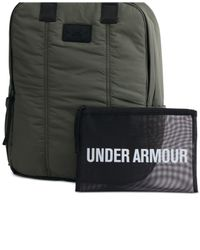 Under Armour | Green Storm Puffer Backpack | Lyst