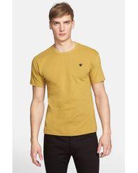 Comme des Garçons - Green 'Black Emblem' Cotton Jersey T-Shirt for Men - Lyst