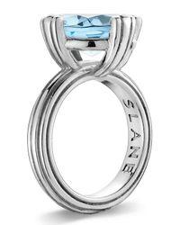 Slane - Metallic Calypso Blue Topaz Ring Size 7 - Lyst