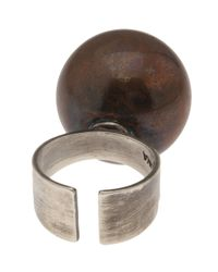 Beth Orduna | Brown Ball Ring | Lyst