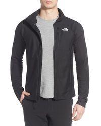 The North Face - Black 'fuseform Dolimiti' Fleece Jacket for Men - Lyst
