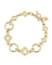 Armenta - 18-karat Yellow Gold Sculpted Link Bracelet - Lyst