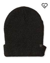Live Love Dream | Black Lld Metallic Yarn Beanie | Lyst