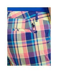 Ralph Lauren Golf | Multicolor Madras Short | Lyst