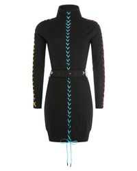 Preen By Thornton Bregazzi - Cashmere Turtleneck Dress - Black - Lyst
