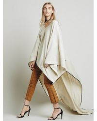 Free People - White Augusta Pullover Wrap - Lyst