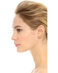 Noir Jewelry - Metallic Maris Earrings - Lyst