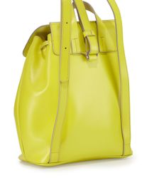 Marc By Marc Jacobs - Green Ligero Leather Flap-top Backpack - Lyst