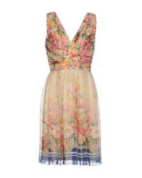 Blugirl Blumarine | White Knee-length Dress | Lyst